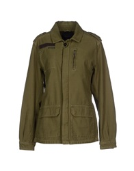 Maison Scotch Jackets Military Green