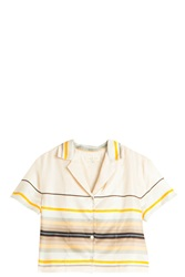 Rag And Bone Layne Crop Shirt