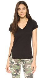Sundry V Neck Tee Black