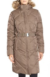 The North Face Women's 'Metrolina' Down Parka With Removable Faux Fur Trim Hood