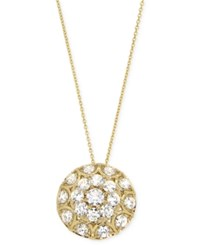 Wrapped In Love Diamond Pendant Necklace 1 2 Ct. T.W. In 14K Gold Yellow Gold