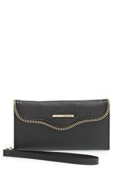Women's Rebecca Minkoff Iphone 6 And 6S Folio Wristlet Black