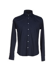 Cesare Paciotti 4Us Shirts Shirts Men Dark Blue