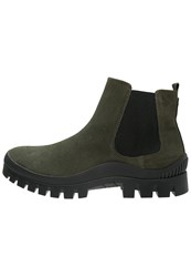 Calvin Klein Jeans Boots Military Oliv