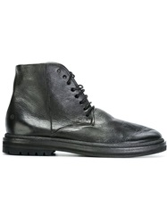 Marsell Marsell Military Boots Black