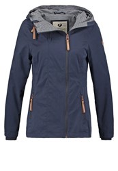 Ragwear Blend Summer Jacket Navy Dark Blue