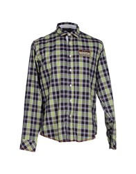 Napapijri Shirts Shirts Men Light Green
