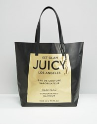 Juicy Couture 'Carry Me' Tote Bag Pitch Black