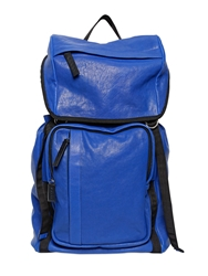 Marni Nappa Leather Backpack Blue
