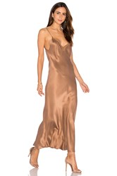 Mes Demoiselles Satine Maxi Dress Beige