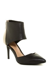 Elaine Turner Designs Lacey D'orsay Ankle Cuff Pump Black