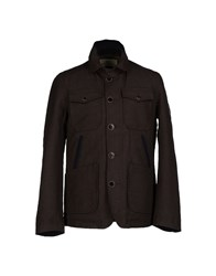 Replay Coats And Jackets Jackets Men Dark Green