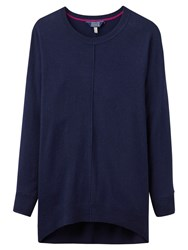 Joules Emma Wool Blend Jumper French Navy