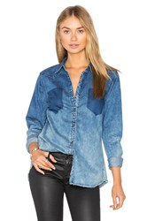 Blank Nyc Denim Button Up Float On