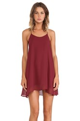 De Lacy Hollywood Mini Dress Red