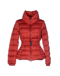 Paul And Shark Down Jackets Red
