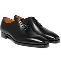 Gaziano And Girling Sinatra Whole Cut Leather Oxford Shoes Black
