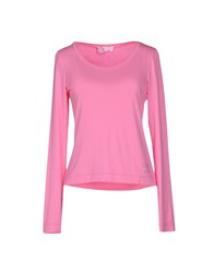 Clips More Topwear T Shirts Women Pink