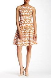 Nine West Sleeveless And Structured Dress Multi