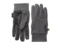Burton Powerstretch Liner Heathers Extreme Cold Weather Gloves Gray