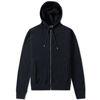 Acne Studios Johna Zip Hoody Blue