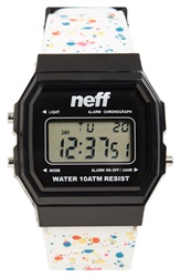 Neff 'Flava Xl' Digital Watch 38Mm X 27Mm Jawbreaker