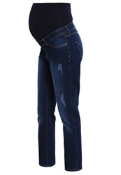 Dorothy Perkins Straight Leg Jeans Blue Blue Denim