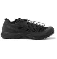 Salomon S Lab Sense Mesh And Rubber Sneakers Black