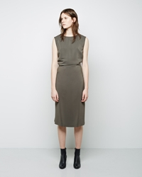Maison Martin Margiela Line 4 V Back Dress Grey