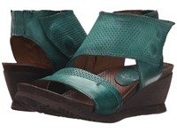 Miz Mooz Seline Emerald Women's Clog Mule Shoes Green