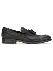 Henderson Fusion Tassel Detail Loafers Grey