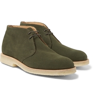 Mark Mcnairy Crepe Soled Suede Desert Boots
