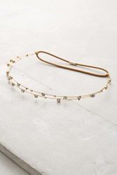 Anthropologie Lucia Headband Gold