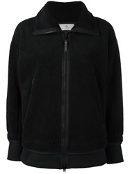 Adidas By Stella Mccartney Teddy Fleece Jacket Black