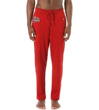 Polo Ralph Lauren Logo Embroidered Cotton Jersey Pyjama Bottoms Franklin Red