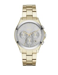 Dkny Parsons Goldtone Stainless Steel Bracelet Chronograph Ny2452