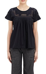 Ulla Johnson Anya Babydoll Blouse