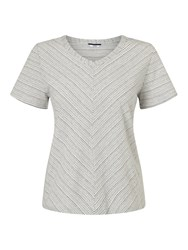 Dash Relaxed V Neck Top Multi Coloured