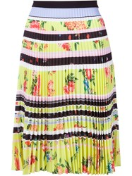 Mary Katrantzou 'Fontaine' Skirt Yellow And Orange