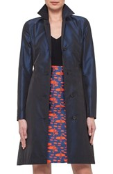 Women's Akris Punto Belted Techno Trench Coach