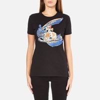 Vivienne Westwood Anglomania Women's Scribble Orb T Shirt Black