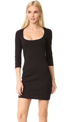 Dsquared Long Sleeve Dress Black