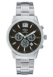 S.Oliver Chronograph Watch Silvercoloured