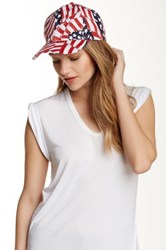 David And Young Americana Cap Red