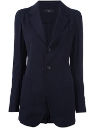 Y's Tailored Jacket Blue