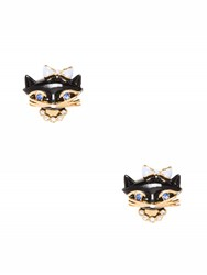 Kate Spade Jazz Things Up Cat Studs