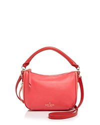 Kate Spade New York Cobble Hill Color Block Mini Ella Crossbody Crab Red Coral Sunset Parrot Feather