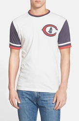 Red Jacket 'Chicago Cubs Remote Control' T Shirt Dove White Navy