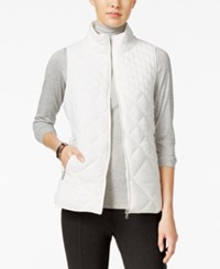 G.H. Bass And Co. Packable Puffer Vest Ivory