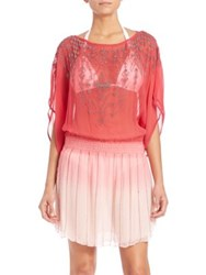 Parker Sunset Coverup Pink Ombre